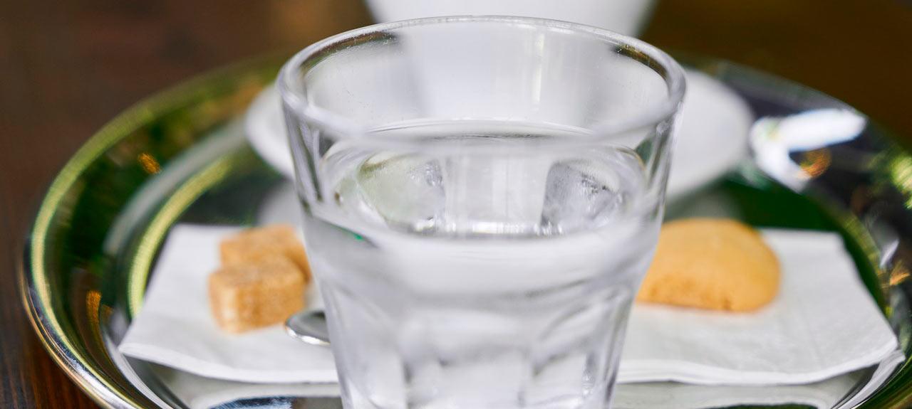 agua para beber limpia